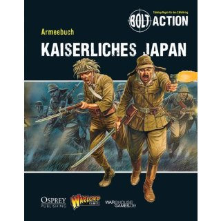 Bolt Action Armies of Japan Armee Buch