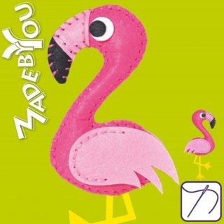 Made by You Flamingo zum selber nähen