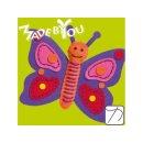 Made by You Lila Schmetterling zum selbst nähen