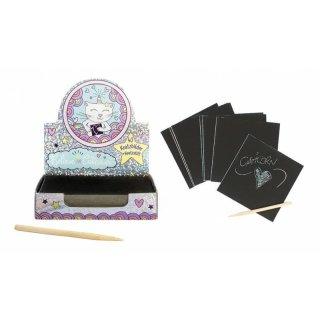 Caticorn Kratzbild Mini Box