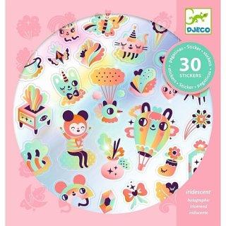 Sticker: Herrlicher Regenbogen von DJECO
