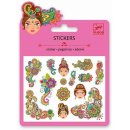 Mini Sticker: Indian designs von DJECO