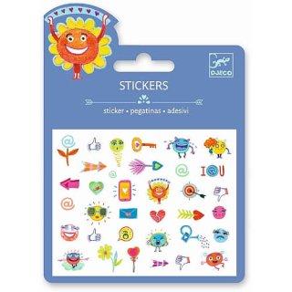 Mini Sticker: Symbols von DJECO