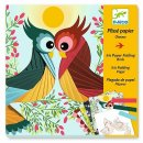 Papierkunst: Vögel von DJECO