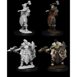 Dungeon & Dragons Nolzurs Marvelous Miniatures - Female Half-Orc Barbarian