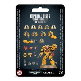 WARHAMMER 40k IMPERIAL FISTS PRIMARIS UPGRADES & TRANSFERS
