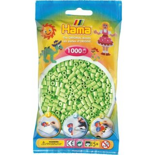 Hama Bügelperlen 1000 Stück Hell Grün