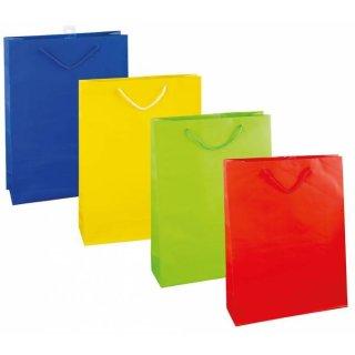Geschenktüte 4 Farb.sort., L 35x25x8cm