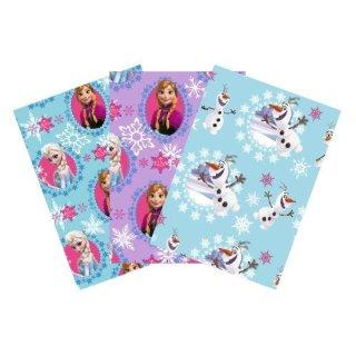 Geschenkpapier Frozen Disney, 2mx70cm sortiert