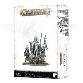 WARHAMMER Age of Sigmar KATAKROS MORTARCH OF THE NECROPOLIS