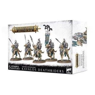 WARHAMMER Age of Sigmar OSSIARCH BONEREAPERS KAVALOS DEATHRIDERS