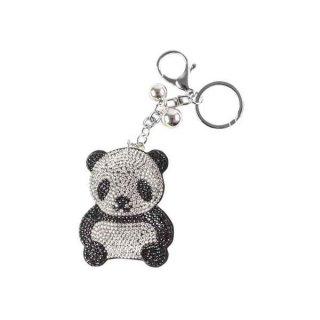 """Schlüsselanhänger mit Strass """"Panda"""""""