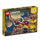 Lego 31102 Creator 3-in-1 Feuerdrache