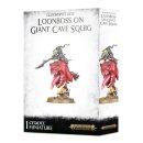 WARHAMMER Age of Sigmar GLOOMSPITE GITZ LOONBOSS ON GIANT...