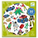 Sticker: Retro toys von DJECO