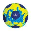 1 NEOPREN MINI-BEACHSOCCER, G2, ca.15 cm neon-gelb/blau