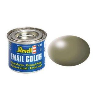 Email Color Schilfgr¸n, seidenmatt, 14ml, RAL 6013 SM 362 Modellbaufarbe Revell