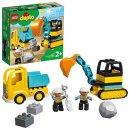 LEGO® 10931 DUPLO® Bagger und Laster
