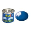 Email Color Blau, glänzend, 14ml, RAL 5005  Nr.52  Revell