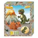 Geschenkpackung 3D Dinos ca. 2500 Bügelperlen Midi