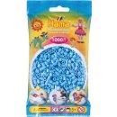 1 Hama Bügelperlen Beutel 1000 Stück Pastell-Blau