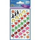 Z Design Creative Papier Sticker Glücksbringer