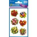 Z Design Creative Sticker Papier Sticker Sträuße