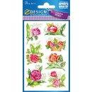 Z Design Creative Sticker Papier Sticker Rosen