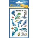 Z Design Beauty Tattoo Delfine
