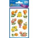 Z Design Creative Sticker Papier Sticker Rosen 2