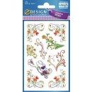 Z Design Creative Sticker Papier Schnörkel
