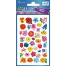 Z Design Creative Papier Sticker Blütenköpfe
