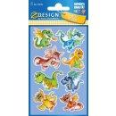 Sticker Drachen Glossy 1 Bogen Z-Design