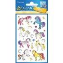 Z Design Kids Papier Sticker Pferde