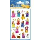 Z Design Kids Sticker Papier Prinzessin