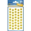 Z Design Kids Sticker Papier Sterne