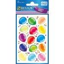 Z Design Creative Sticker Papier Luftballon