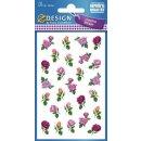 Z Design Creative Sticker Papier kleine Blüten