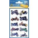 3D Sticker tolle Motorbikes!
