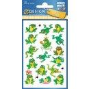 Z Design Kids Papier Sticker Frosch