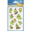 Sticker für Kids witzige Drachensticker