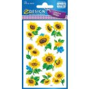 Z Design Creative Papier Sticker Sonnenblumen