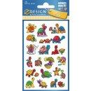 Sticker für Kids Für Schildkröten Fans! 1 Bogen