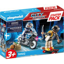 PLAYMOBIL®  70502 City Action Starterpack Polizeijagd
