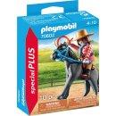 PLAYMOBIL specialPLUS 70602 Westernreiterin mit Lasso und...