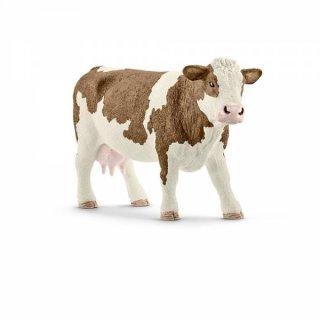 Schleich® Farm Fleckvieh Kuh