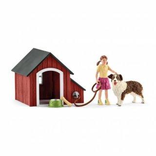 Schleich® Farm Hundehütte