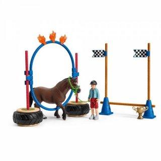 Schleich® Farm Pony Agility Rennen