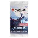 1 MAGIC THE GATHERING Kaldheim Set Booster Englisch