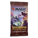 1 MAGIC THE GATHERING - Strixhaven: School of Mages Set Booster Deutsch